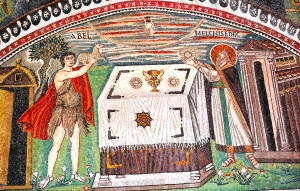 sacrifice of abel and melchisedec_ravenna
